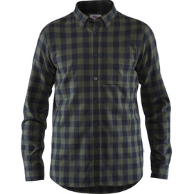 Fjällräven Övik Check Shirt LS Men, deep forest